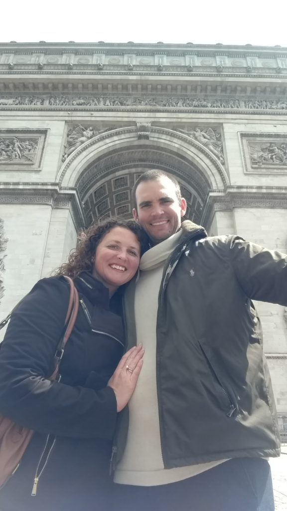 Arc de Triomphe - photo taken specifically for my mom who has a very similar picture herself from her Euro excursions