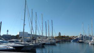 Marina near Barceloneta