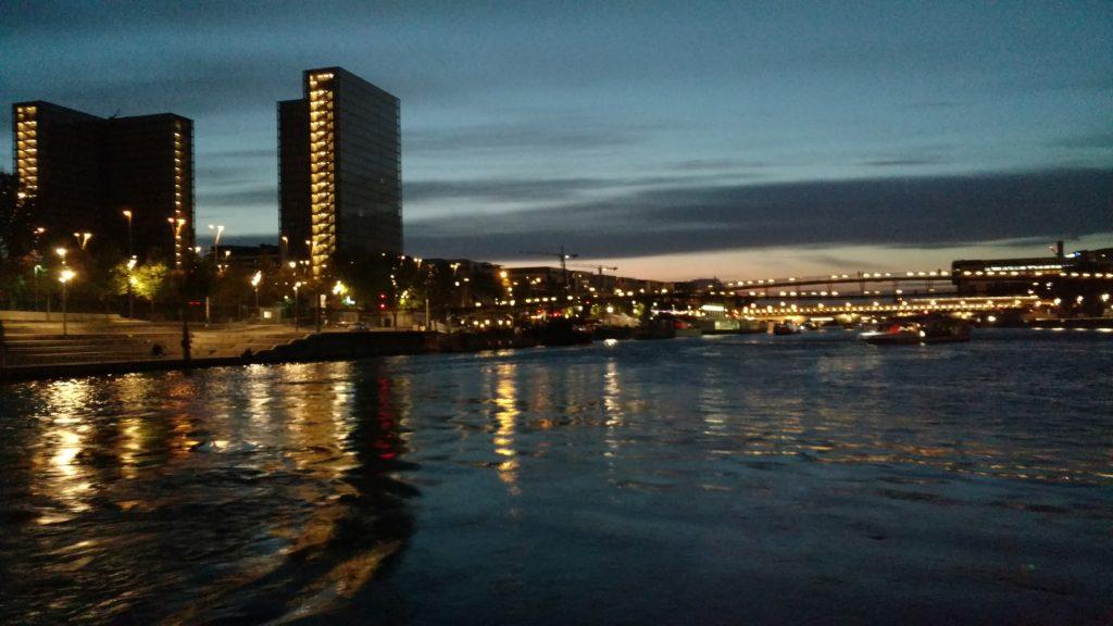 Seine River cruise view